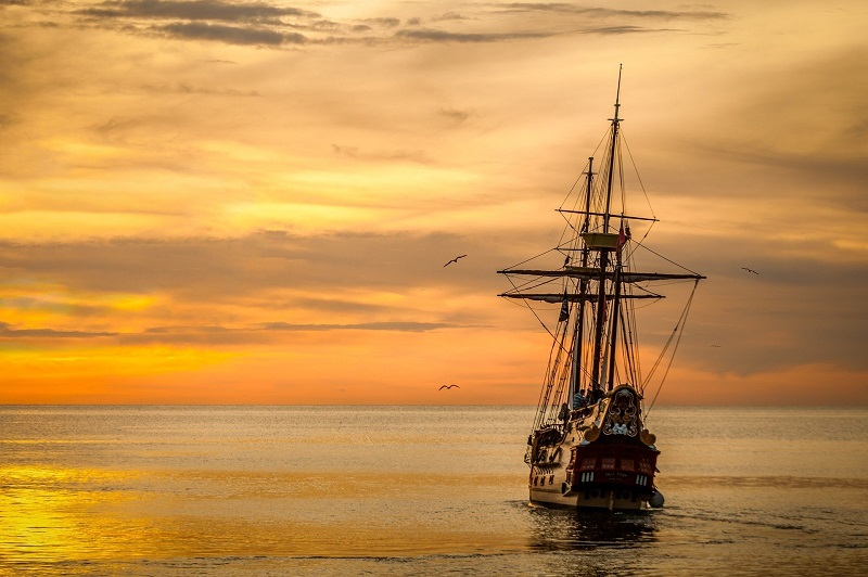 Things to do in Orange County September 2020 Ship Sailing into the Sunset