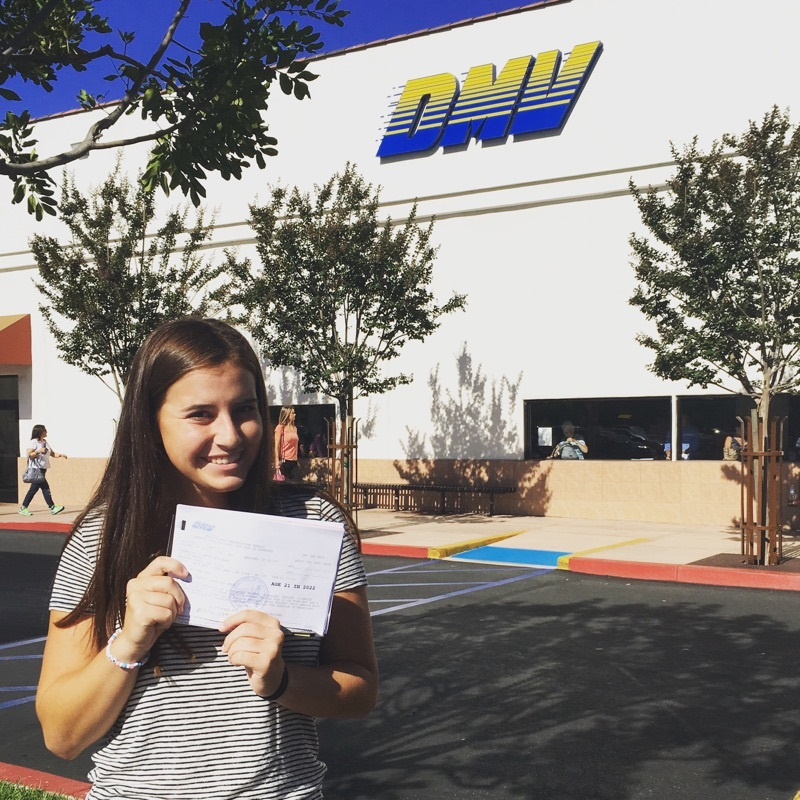 How to Get Your Drivers License in Orange County California Student Standing Outside of a DMV
